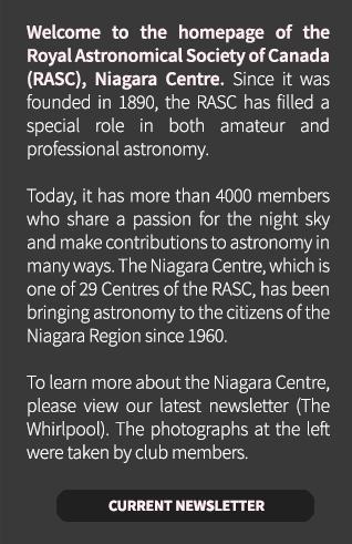 RASC Niagara Whirlpool Newsletter
